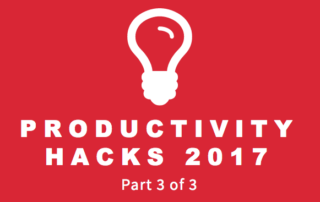 Productivity Hacks 3-3