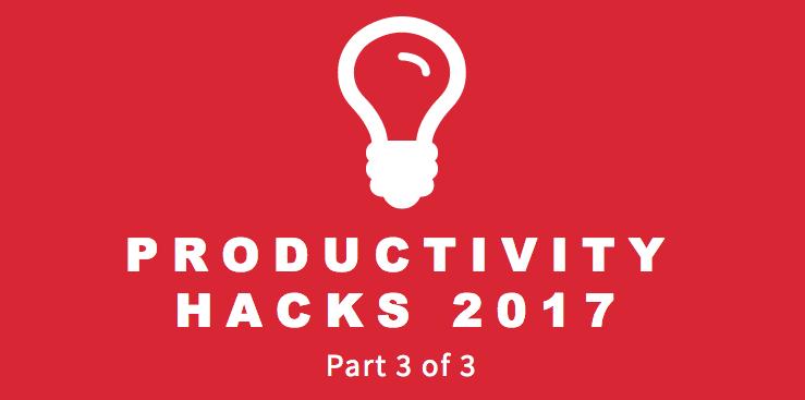 Productivity Hacks 3-3