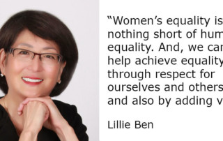 Lillie Ben Changemaker Profile