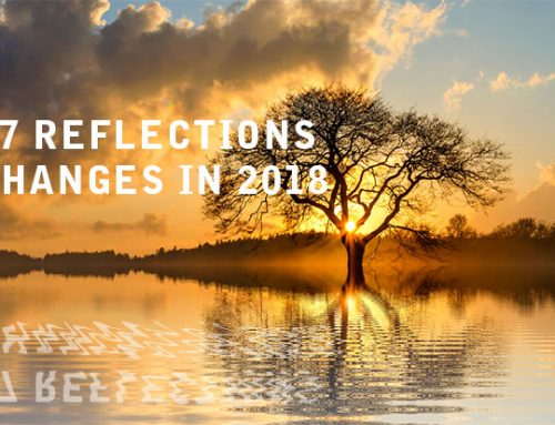 2017 Reflections and Changes in 2018