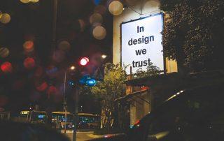 Design we trust
